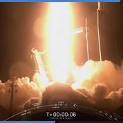 Décollage réussi pour la fusée SpaceX en route vers l'ISS