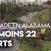 États-Unis : une tornade fait au moins 22 morts