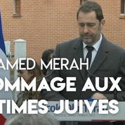 Christophe Castaner rend hommage aux victimes juives de Mohamed Merah