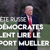 Rapport Mueller : Trump se réjouit, les démocrates demandent sa publication