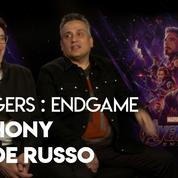 «Avengers Endgame pourrait bien être notre meilleur film» (Anthony et Joe Russo)