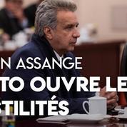 Quito règle ses comptes avec Julian Assange