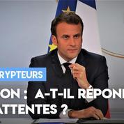 Macron : a-t-il répondu aux attentes ?