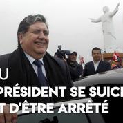 Pérou : poursuivi pour corruption, l'ex-président se suicide avant son arrestation