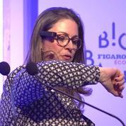 Delphine Nabeth : Au Big Bang Éco, une démonstration de lunettes parlantes - Big Bang Éco 2019