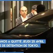 Carlos Ghosn : les images de sa libération