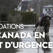 Canada : Ottawa décrète l'état d'urgence face aux inondations