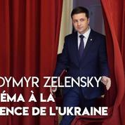 Ukraine : qui est l'humoriste Volodymyr Zelensky, le nouveau président Ukrainien ?