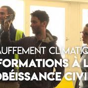 désobéissance civile : comment les activistes sont formés
