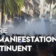 Algérie : les manifestants protestent contre le président par intérim, Abdelkader Bensalah