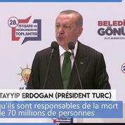 Génocide arménien : Erdogan attaque (une nouvelle fois) Emmanuel Macron