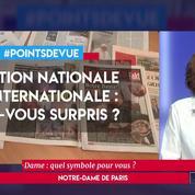 Emotion nationale et internationale : êtes-vous surpris ?