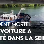 Boulogne-Billancourt : la brigade fluviale remonte une voiture de la Seine après un tragique accident