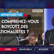 Corse : comprenez-vous le boycott des nationalistes ?