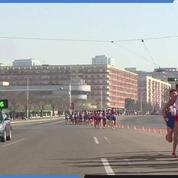 Avalanche de touristes à Pyongyang pour le marathon