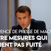 Conférence de presse d'Emmanuel Macron : quatre mesures qui n'avaient pas fuité