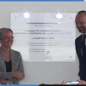 Edouard Philippe inaugure le nouveau terminal d'Orly