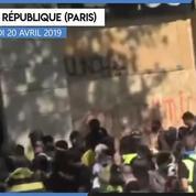 «Gilets jaunes» Acte XXIII : un magasin de sport pillé place de la République à Paris