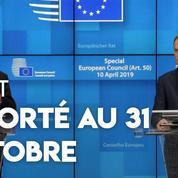 Brexit: les 27 accordent «une extension flexible» au Royaume-Uni