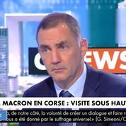 Corse: les propositions de Macron «ne sont pas à la hauteur des enjeux», estime Simeoni