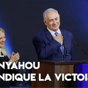 Israël: Nétanyahou revendique la victoire aux législatives