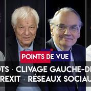 Points de vue du 9 avril : impôts, clivage gauche-droite, Brexit, réseaux sociaux