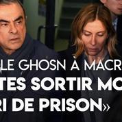 Carole Ghosn demande à Macron de «faire sortir [s]on mari de prison»