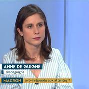 Macron : quels changements économiques ? Le décryptage et les infos d'Anne de Guigné