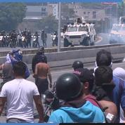 Venezuela : violents affrontements entre manifestants et la Garde nationale ont lieu à Caracas