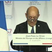 Jean-Yves Le Drian appelle le Japon à respecter les droits de Carlos Ghosn