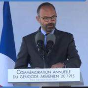 Commémoration du génocide arménien : le discours d'Édouard Philippe