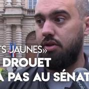 «Gilets jaunes»: l'invitation d'Éric Drouet au Sénat a été annulée