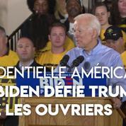 États-Unis : Joe Biden lance sa campagne auprès des ouvriers, habituellement favorables à Trump
