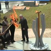 Rwanda : une flamme en mémoire des victimes du génocide