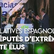 Espagne : le parti d'extrême droite Vox célèbre son entrée au Parlement