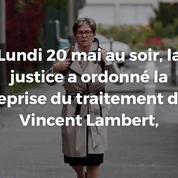 Vincent Lambert : la reprise des soins ordonnée par la justice