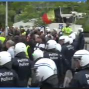 Européennes : Manifestation sauvage de «gilets jaunes» à Bruxelles en contestation de l'UE