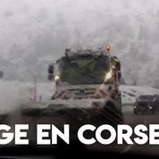 Corse : chutes de neige et records de froid pour un mois de mai