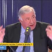 Gérard Larcher veut «rassembler la droite et le centre»