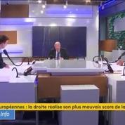 LR aux Européennes : «Nous n'avons pas réussi à convaincre», reconnaît Gérard Larcher