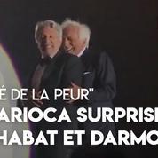 25 ans de «La Cité de la peur» : Alain Chabat et Gérard Darmon rejouent la scène culte de la Carioca