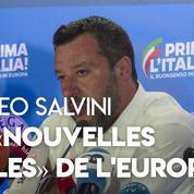 Matteo Salvini : la percée populiste «est le signe d'une Europe qui change»