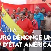 Venezuela : «Ce coup d'État vient directement de la Maison Blanche», assure Nicolas Maduro