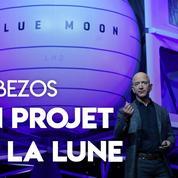 Espace : l'alunisseur de Jeff Bezos prévu pour 2024