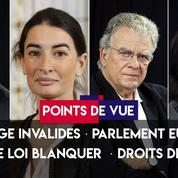 Points de vue du 14 mai : hommage Invalides, parlement européen, projet de loi Blanquer, droits des femmes
