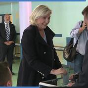Européennes : Marine Le Pen (RN) a voté à Hénin-Beaumont