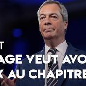 Brexit : fort de son score aux Européennes, le parti de Nigel Farage veut participer aux négociations