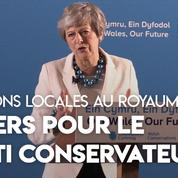 Elections locales au Royaume-Uni : «C'est un coup dur pour notre parti» (Theresa May)