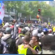 1er mai : heurts entre policiers et casseurs avant le défilé des syndicats