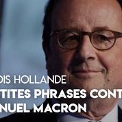 «Manque d'humanité», «trahison»... : les piques de François Hollande contre Emmanuel Macron